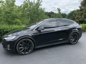 2018 Tesla Model X, LLumar CTX40 01