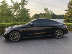 2021 Mercedes-Benz AMG C43 Coupe, LLumar IRX40 01