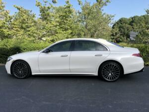 2021 Mercedes-Benz S580, LLumar IRX40 02