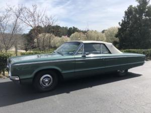 1965 Dodge Custom 880 Convertible, ORAFOL ORACAL Gloss Fir Tree Green Metallic