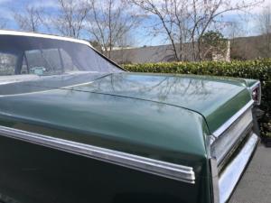 1965 Dodge Custom 880 Convertible, ORAFOL ORACAL Gloss Fir Tree Green Metallic 10