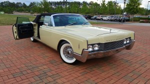 1966 Lincoln Continental Convertible, Interior and Top Replacement