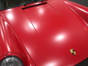 1987 Porsche 911 Cabriolet, Avery Dennison Satin Carmine Red 04