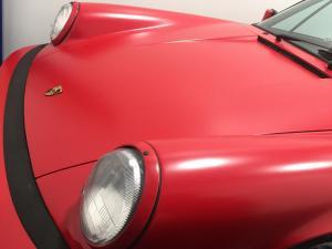 1987 Porsche 911 Cabriolet, Avery Dennison Satin Carmine Red 05
