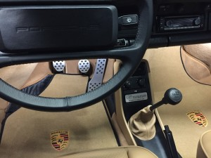 1987 Porsche 911 Cabriolet, Interior Replacement and LED Interior Lighting