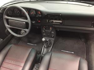 1989 Porsche 930 Turbo Cabriolet, Interior Replacement