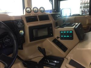 1997.5 Hummer H1, Multimedia, Camera, and Lighting Systems 05