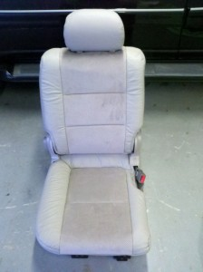 2002 Toyota Sequoia, Seat Upholstery Replacement
