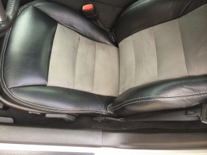 2007 Chevrolet Corvette Coupe, Seat Upholstery Replacement