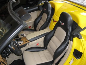 2008 Chevrolet Corvette Convertible, Seat Upholstery Replacement