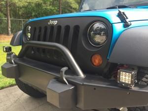 2008 Jeep Wrangler, 3M Satin Ocean Shimmer and Avery Dennison Black Carbon Fiber