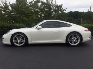 2013 Porsche 911 Carrera, Avery Dennison Satin White Pearl 01