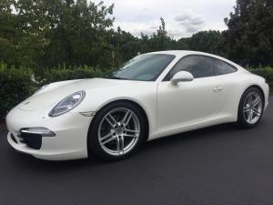 2013 Porsche 911 Carrera, Avery Dennison Satin White Pearl 02