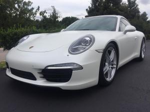 2013 Porsche 911 Carrera, Avery Dennison Satin White Pearl 03