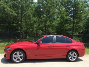 2014 BMW 328i, LLumar ATR20 and AIR80