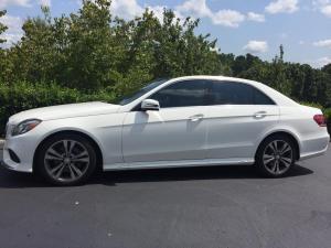 2014 Mercedes-Benz E350, LLumar CTX40 01