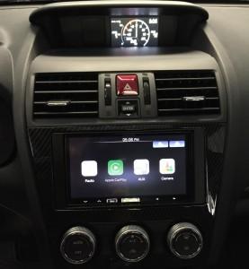 2015 Subaru Impreza WRX, Alpine iLX-007