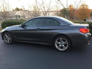 2017 BMW 430i Convertible, LLumar CTX40 and AIR80 01