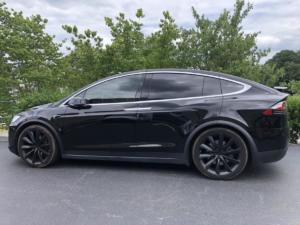 2018 Tesla Model X, LLumar CTX40