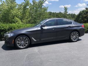 2019 BMW 540i, LLumar CTX40