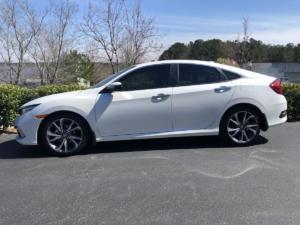 2019 Honda Civic, LLumar CTX40