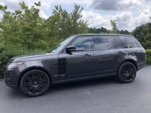 2019 Land Rover Range Rover, LLumar CTX40