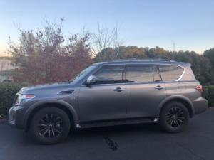 2019 Nissan Armada, LLumar CTX40