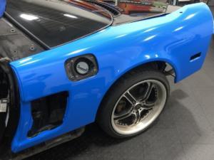 1992 Acura NSX, Avery Dennison Gloss Intense Blue (During 4)