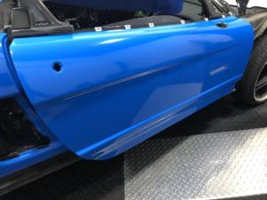 1992 Acura NSX, Avery Dennison Gloss Intense Blue (During 3)