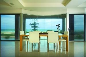 Interior Beach House with LLumar